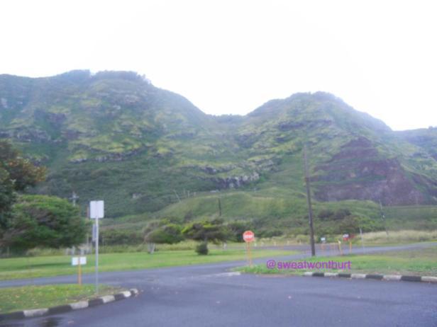 Parking lot- trail is across the street.