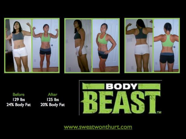 Round 1 Body Beast Results