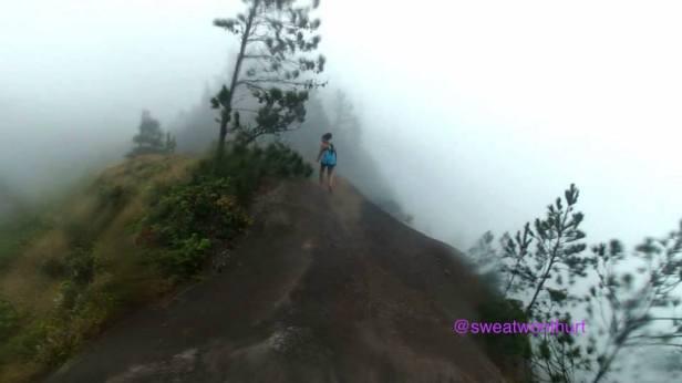 The trail that keeps going to Kuaokala.