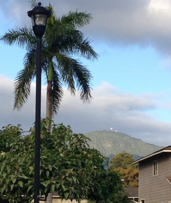 The Satellite is the top of Mt. Ka'ala